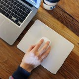Luxury Aluminum Mouse Pad