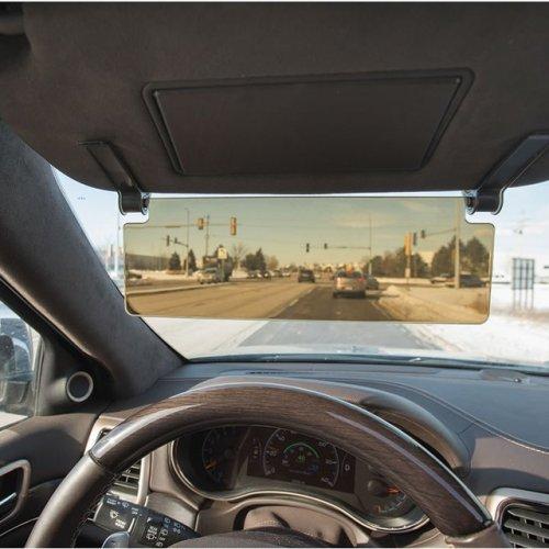 Driver's See Through Sun Visor
