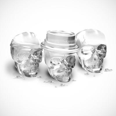 Bone Chilling Skull Ice Mold Set