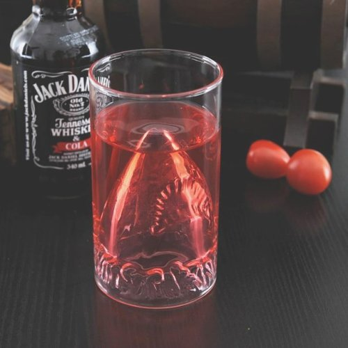 JAWS Shark Attack Glass
