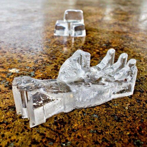 3D Zombie Ice Mold