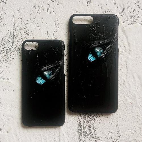 Monster's Blue Eye iPhone Case