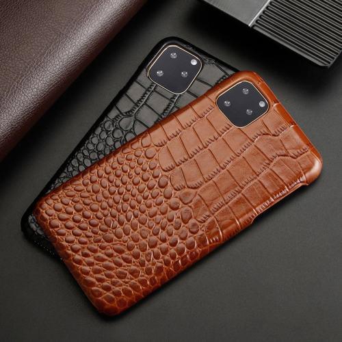 Crocodile Skin iPhone Case iPhone 7 - 12 Pro Max Geniune Leather Phone Case HUAWEI P40 Pro Case