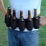Deluxe Six-Pack Beer Belt Holster