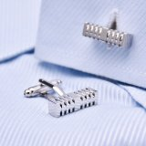 Luxury Cutting Cuboid Cufflinks