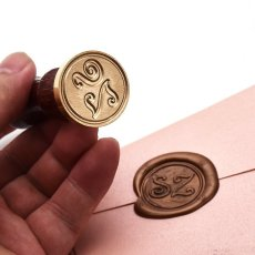 Personlized letter Wax Seal Kit