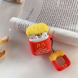 Hamburger & French Fries AirPods Case