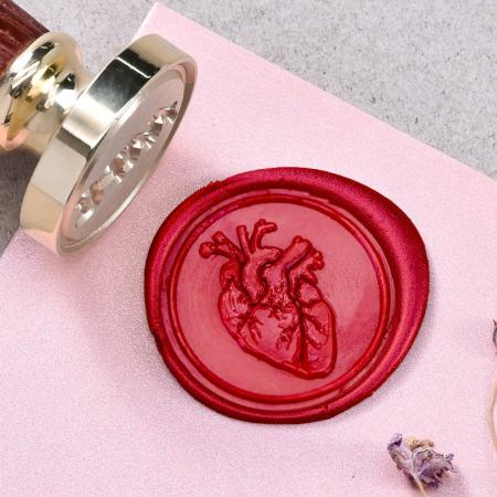 Anatomical Heart Wax Seal Kit