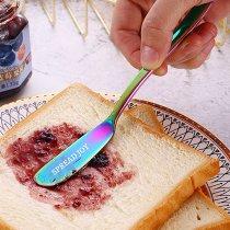 Spread Joy Butter Knife Spreader Colorful Stainless Steel Butter Knife