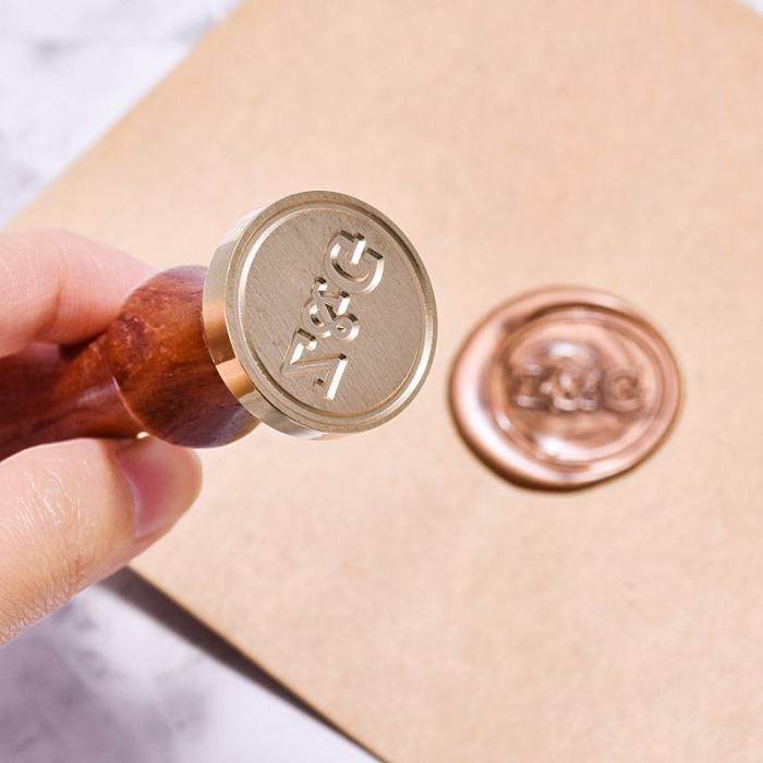 Personalized Z&G Wax Seal Stamp Kit