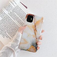 Crack Lines Marble iPhone Case