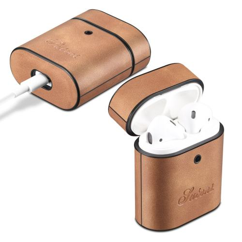 Classical AirPods Case Italy PU Leather Case for AirPods