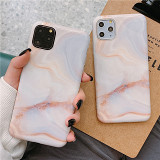 Abstract Blush Marble iPhone Case