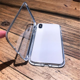 Smart Magnet Armoured Glass iPhone Case