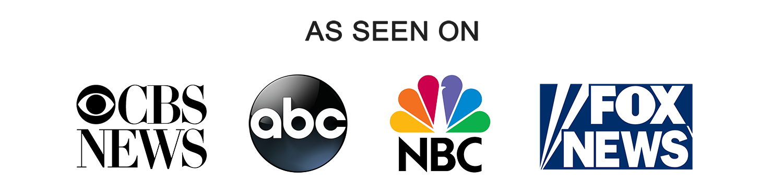 As Seen on NBC, CBS, ABC and FOX