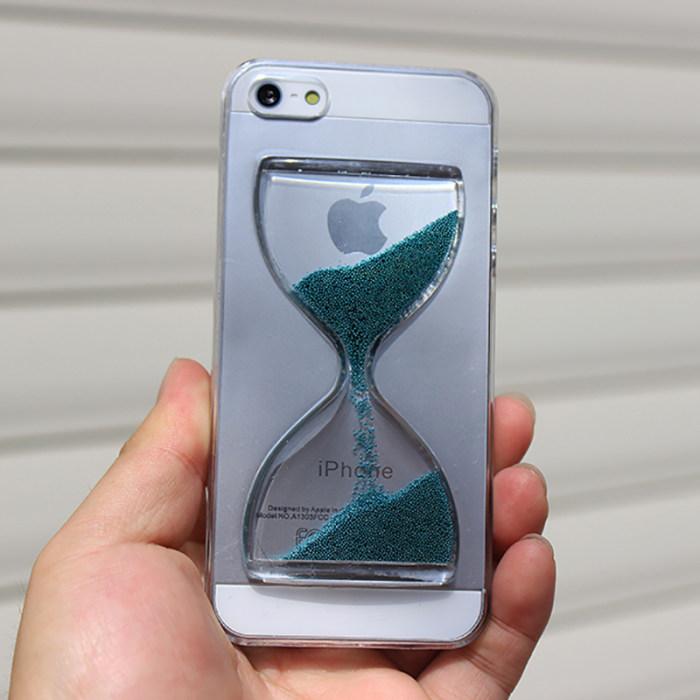 Clearance Sandglass Hourglass Sandy Clock iPhone Case