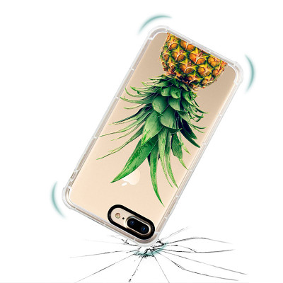 Clearance Anti-Shock Pineapple iPhone Case