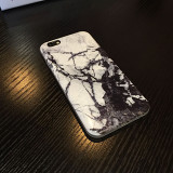 Clearance Black and White Marble iPhone Case