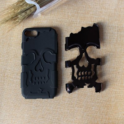 Clearance Double-Deck Skull iPhone Case