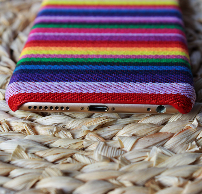 Clearance Canvas iPhone 6+ 6s+ Case