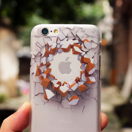 Clearance Break Through The Wall iPhone Case