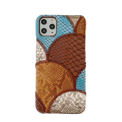 Snakeskin Patchwork iPhone Case Free Shipping