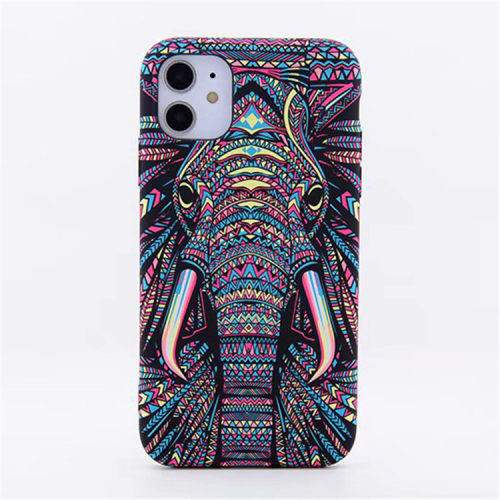 Aztec Elephant iPhone Case for iPhone 11 /12 Case