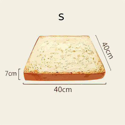 Toast Cat Pad Pet Mat Cat Dog Bed Washable Cushion Sofa Pillow