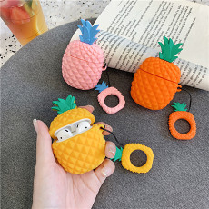 3D Pineapple Silicone Case for Airpods