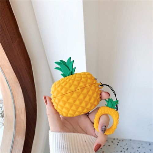 3D Pineapple Case For Airpods Pro 3 Case