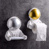 Astronaut Tissue Holder Paper Roller for Wall Bathroom Toilet Gifts for Home