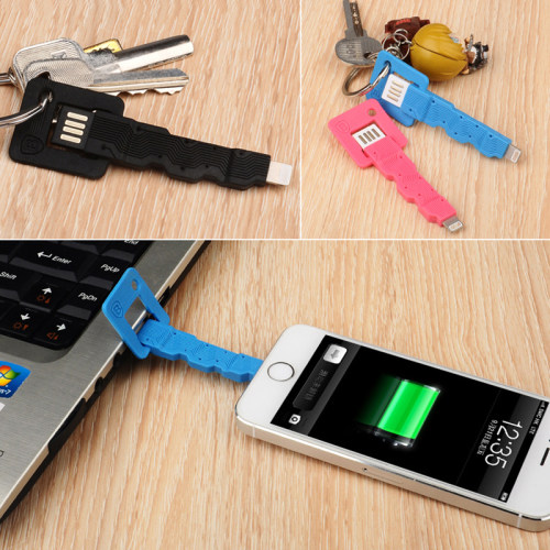 Clearance Key Style Charging Cable for iPhone iPad iPods