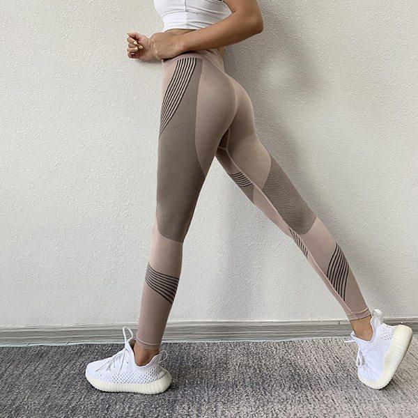 Women Leggings High Waist Peach Hips Gym Leggings