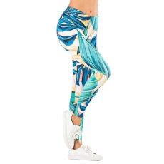 Comic Jungle Printing Fitness Leggins Fashion Slim legins Women's Sexy Leggings