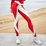 Slim High Waist Elasticity Leggings Fitness Printing Leggins Breathable Woman Pants