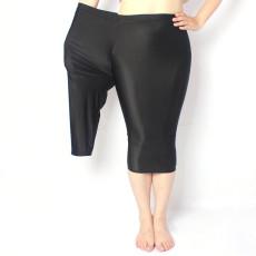 Plus Size S - 7XL Women Sexy Leggings Summer Capris Neon High Waist Jeggings