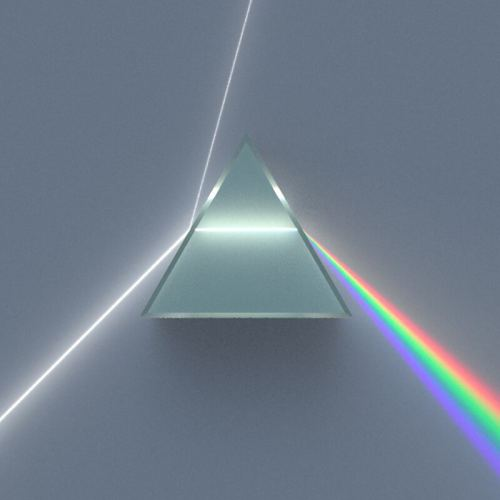 Rainbow Maker 5cm Optical Glass Triangular Prism Science Experiment Physics Light Teaching Kids Educational Toy