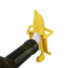 Mr Banana Bottle Stopper Cool Gadgets Gifts for Him Men