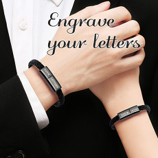 Personalized Charging Cable Bracelet for Apple Samsung Type-C Android Wedding Gifts for Groomsman