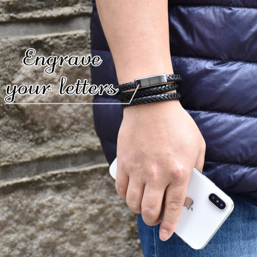 Personalized Gifts Cable Bracelet 60cm for Apple Samsung Type-C Android Custom Bracelet