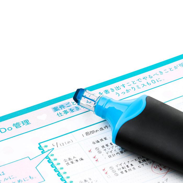 Uni Promark View Highlighter Mark Pen Home Office Stationary