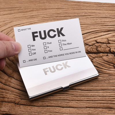 Fuck Cards