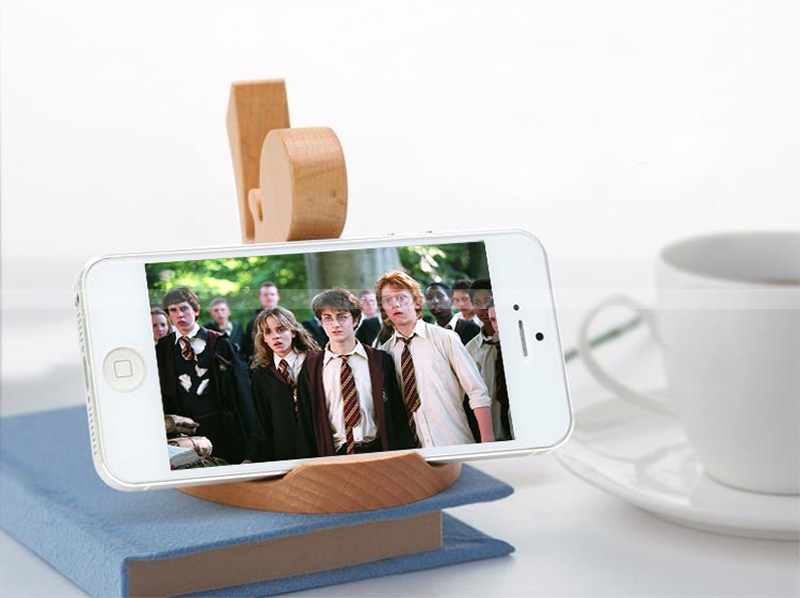 Ninja Kung Fu Smartphone Stand Wood Phone Dock Personalized iPhone Stand Custom Gifts Free Shipping : Veasoon