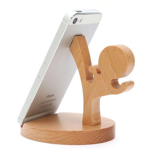 Ninja Kung Fu Smartphone Stand Wood Phone Dock Personalized iPhone Stand Custom Gifts Free Shipping