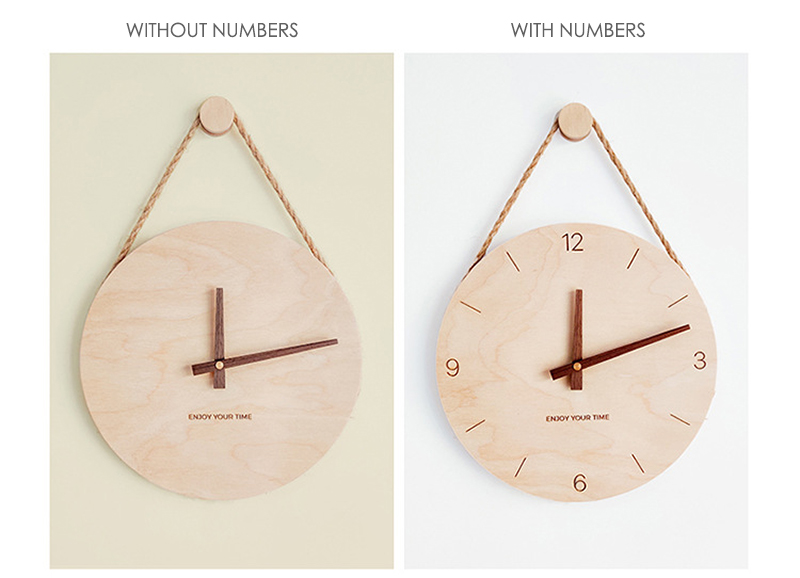 Customizable-Minimalist-Style-Wall-Clock-Wood-Personalized-Gifts-可定制掛鐘-맞춤형벽시계-カスタマイズ可能な壁掛け時計-Reloj-de-pared-personalizable