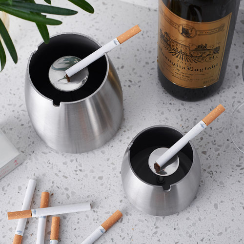 Stainless Steel Cone Ashtray Personalized Ashtray Best Man Gift Ideas