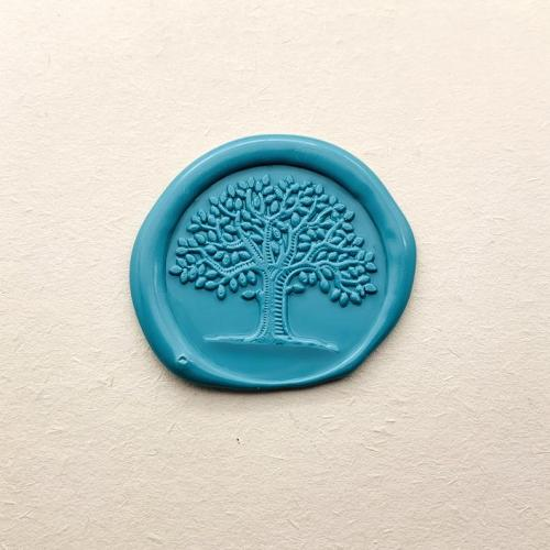 Tree of Life Sealing Wax Stamp Kit