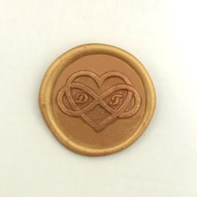Valentines Day Wax Stamp,Infinity Love Custom Letter Wax Seal Stamp