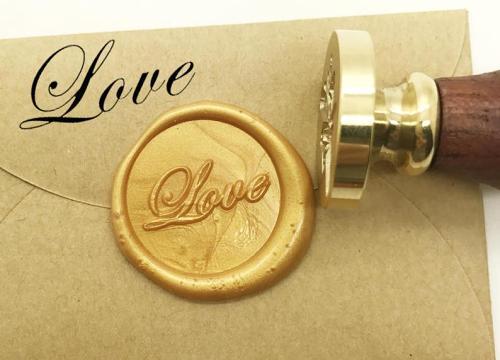 LOVE Wax Seal Stamp Kit Wedding Invitation Sealing Wax Stamp Kits