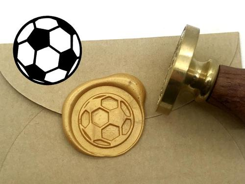 Football Wax Seal Stamp,Gift for Boy idea,Gift for Football Fan,Soccer Wax Seal Kit